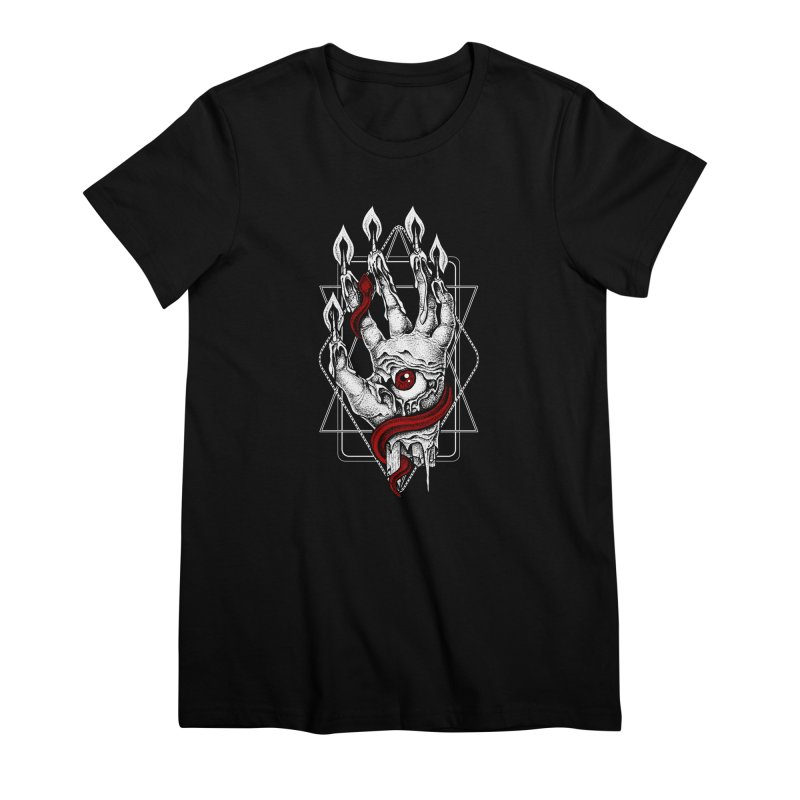 Hand of Glory Women's Premium T-Shirt by von Kowen's Shop