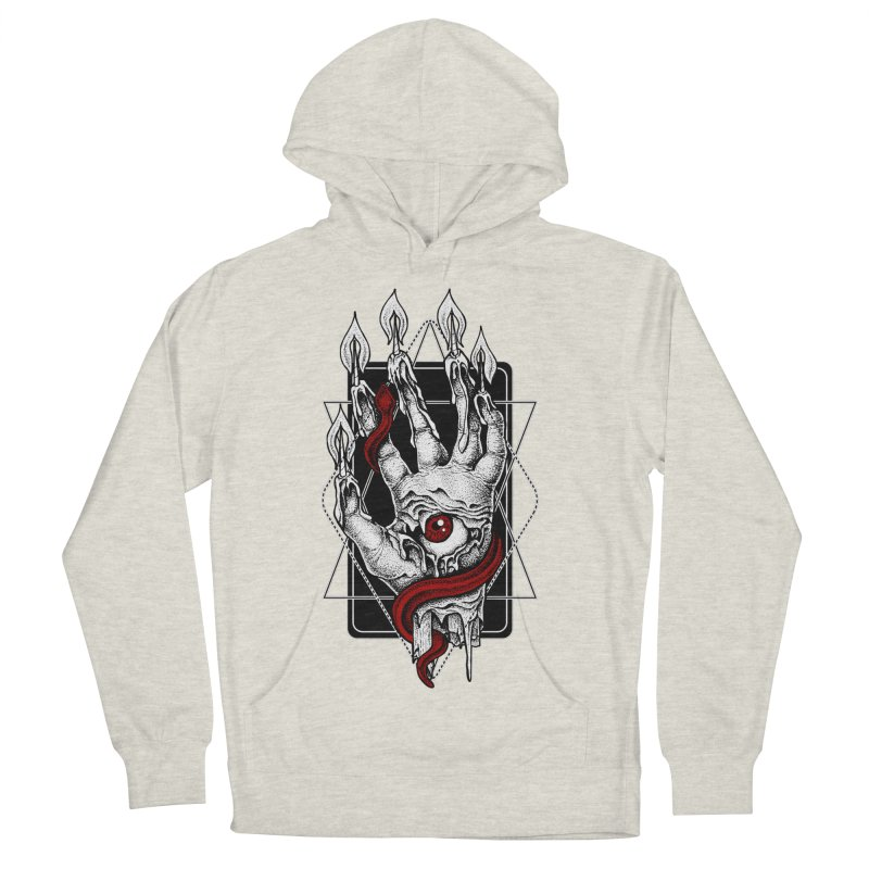 Hand of Glory Men's French Terry Pullover Hoody by von Kowen's Shop