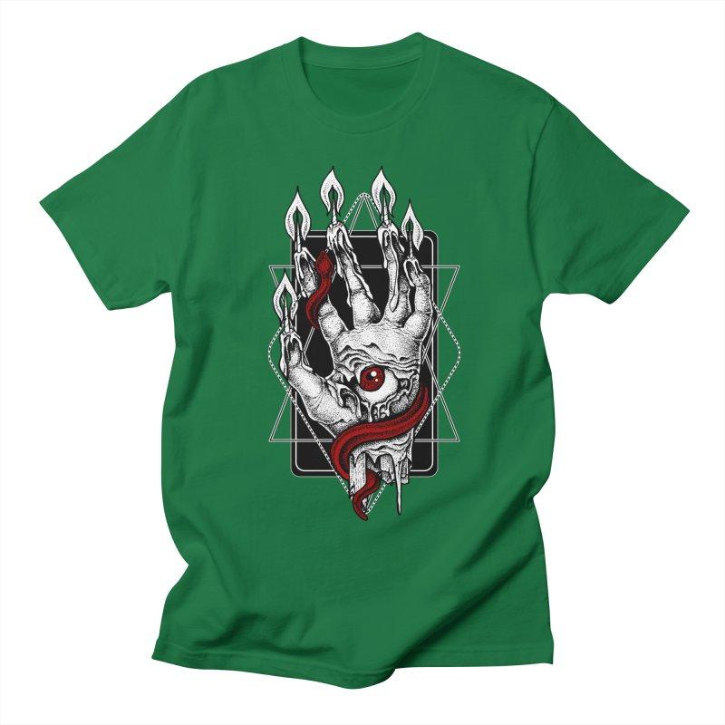 Hand of Glory Men's Regular T-Shirt by von Kowen's Shop