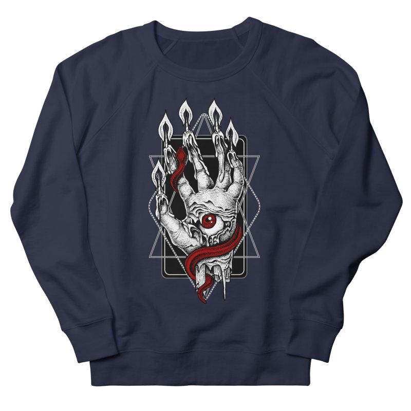 Hand of Glory Men's French Terry Sweatshirt by von Kowen's Shop
