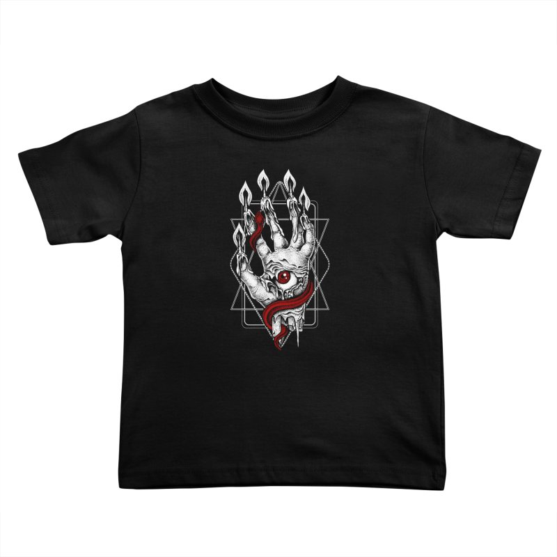 Hand of Glory Kids Toddler T-Shirt by von Kowen's Shop