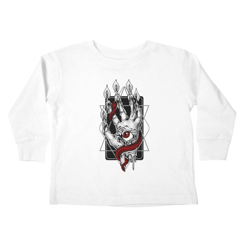 Hand of Glory Kids Toddler Longsleeve T-Shirt by von Kowen's Shop