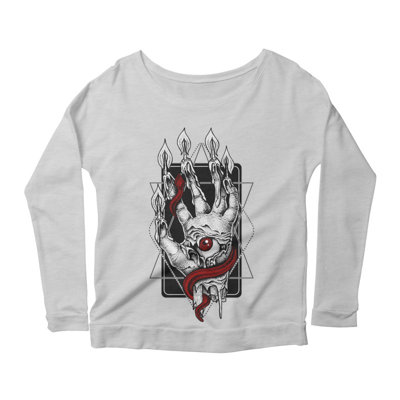 Hand of Glory Women's Scoop Neck Longsleeve T-Shirt by von Kowen's Shop