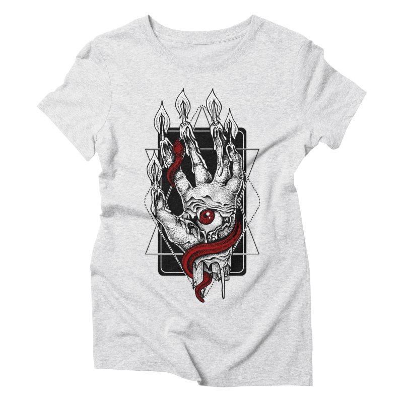 Hand of Glory Women's Triblend T-Shirt by von Kowen's Shop