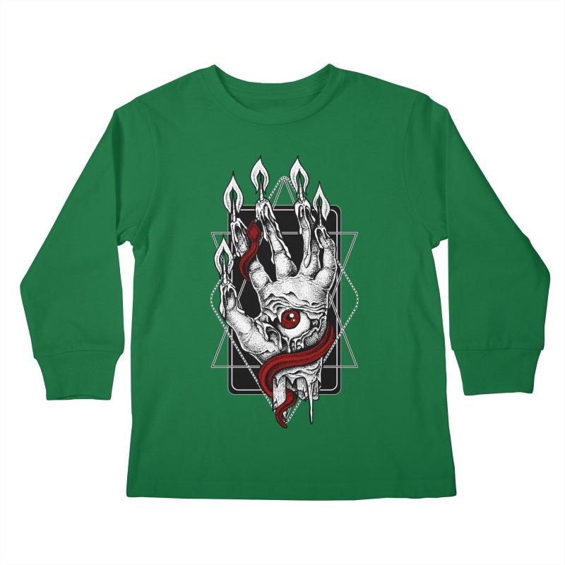 Hand of Glory Kids Longsleeve T-Shirt by von Kowen's Shop