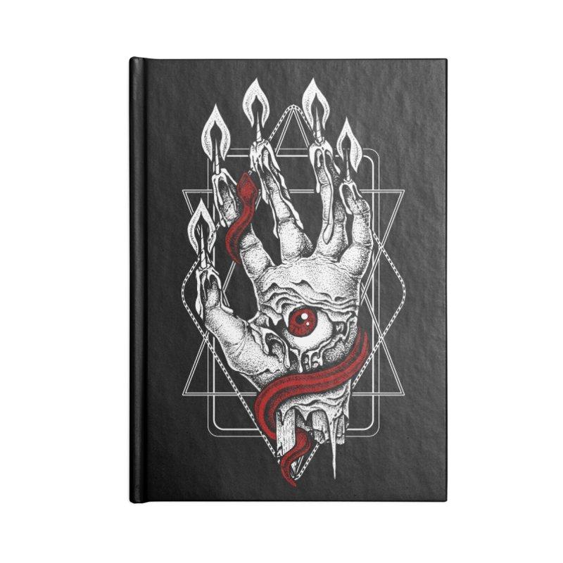 Hand of Glory Accessories Lined Journal Notebook by von Kowen's Shop