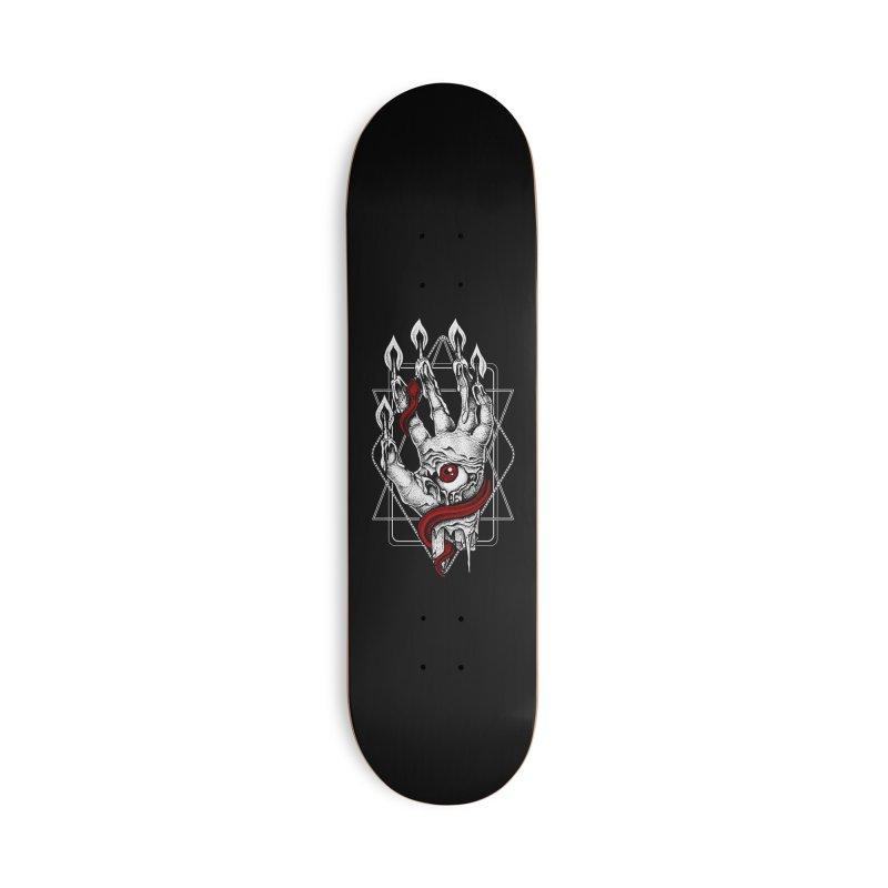 Hand of Glory Accessories Deck Only Skateboard by von Kowen's Shop