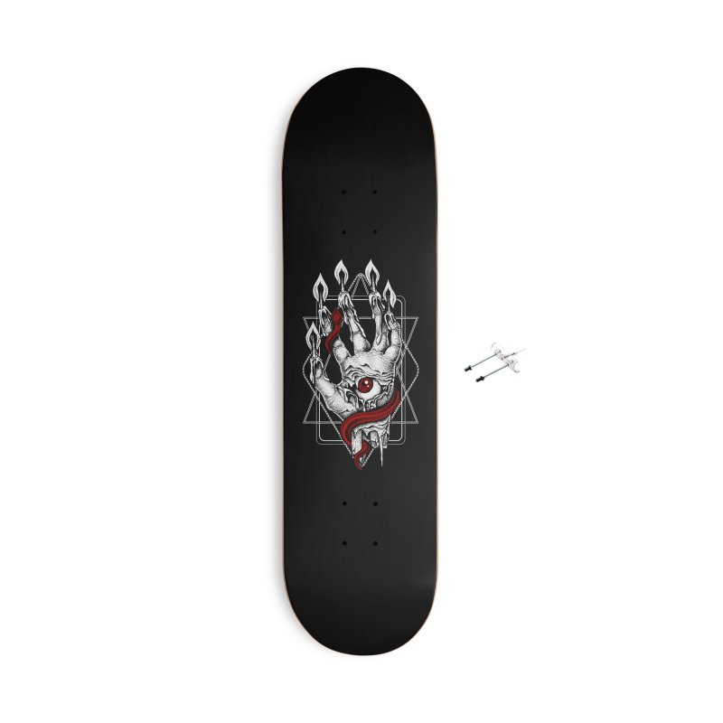 Hand of Glory Accessories With Hanging Hardware Skateboard by von Kowen's Shop