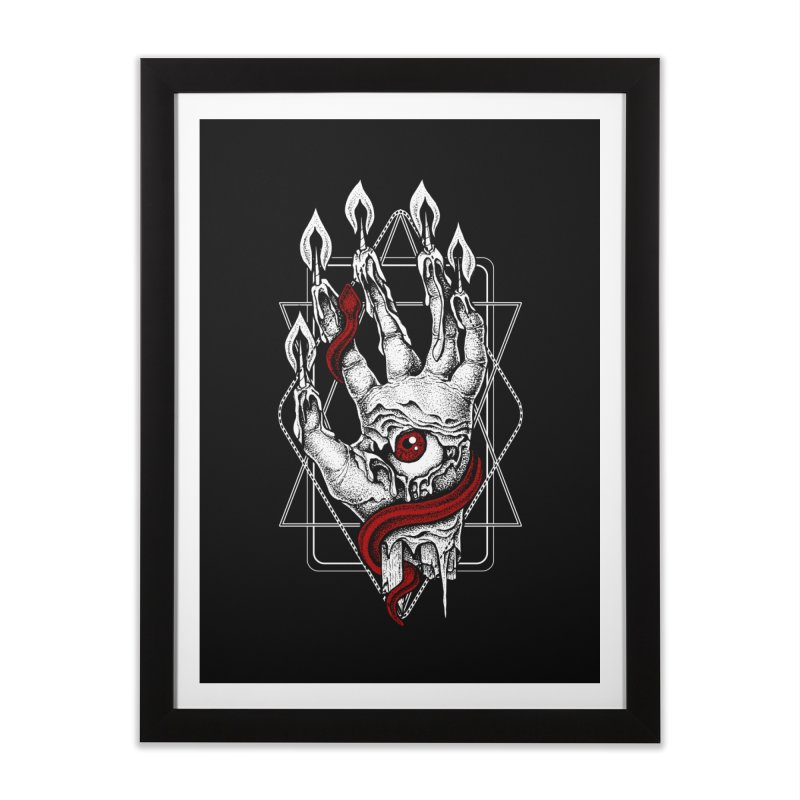 Hand of Glory Home Framed Fine Art Print by von Kowen's Shop