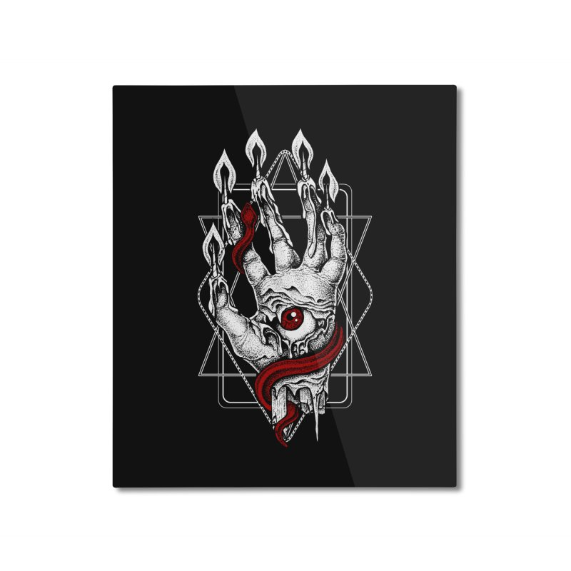 Hand of Glory Home Mounted Aluminum Print by von Kowen's Shop