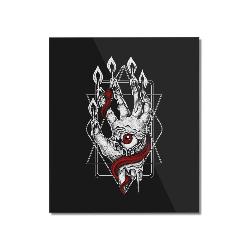 Hand of Glory Home Mounted Acrylic Print by von Kowen's Shop