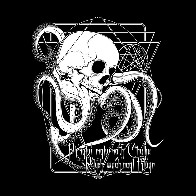 In his house at R'lyeh dead Cthulhu waits dreaming by von Kowen's Shop