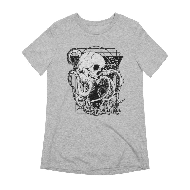 In his house at R'lyeh dead Cthulhu waits dreaming Women's Extra Soft T-Shirt by von Kowen's Shop