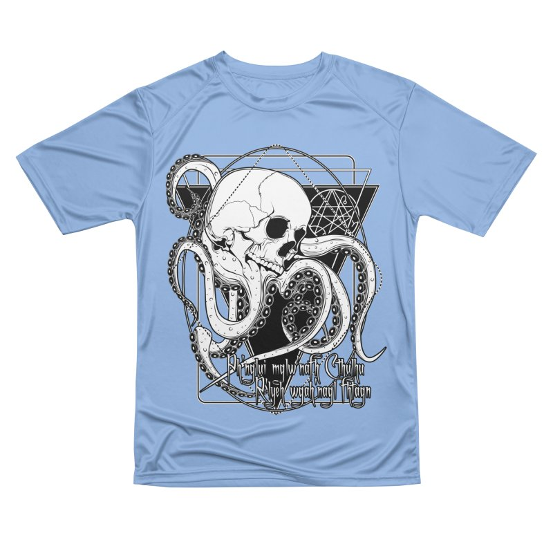 In his house at R'lyeh dead Cthulhu waits dreaming Women's Performance Unisex T-Shirt by von Kowen's Shop