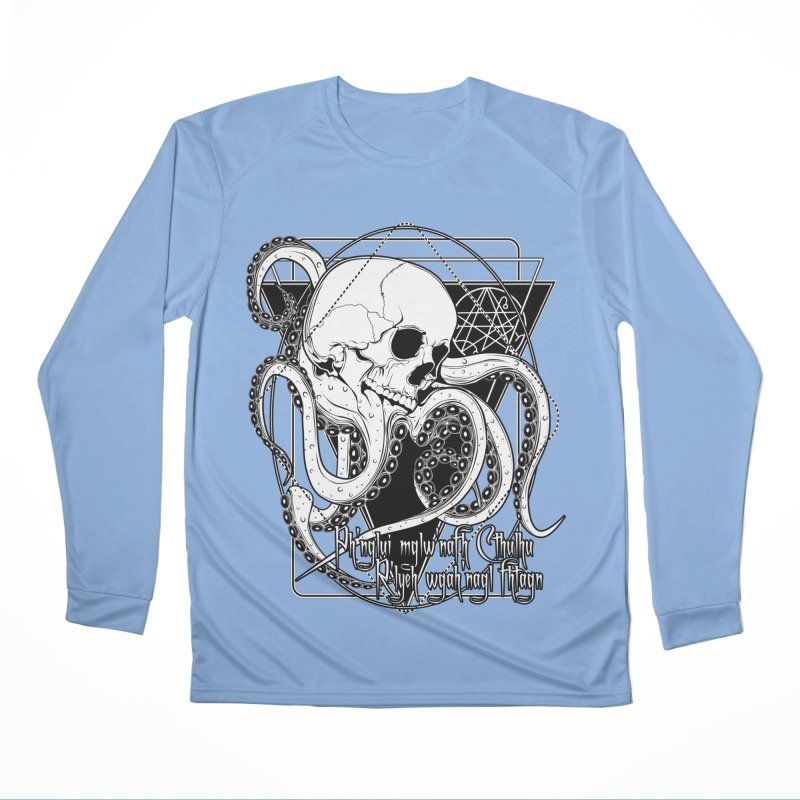 In his house at R'lyeh dead Cthulhu waits dreaming Women's Performance Unisex Longsleeve T-Shirt by von Kowen's Shop