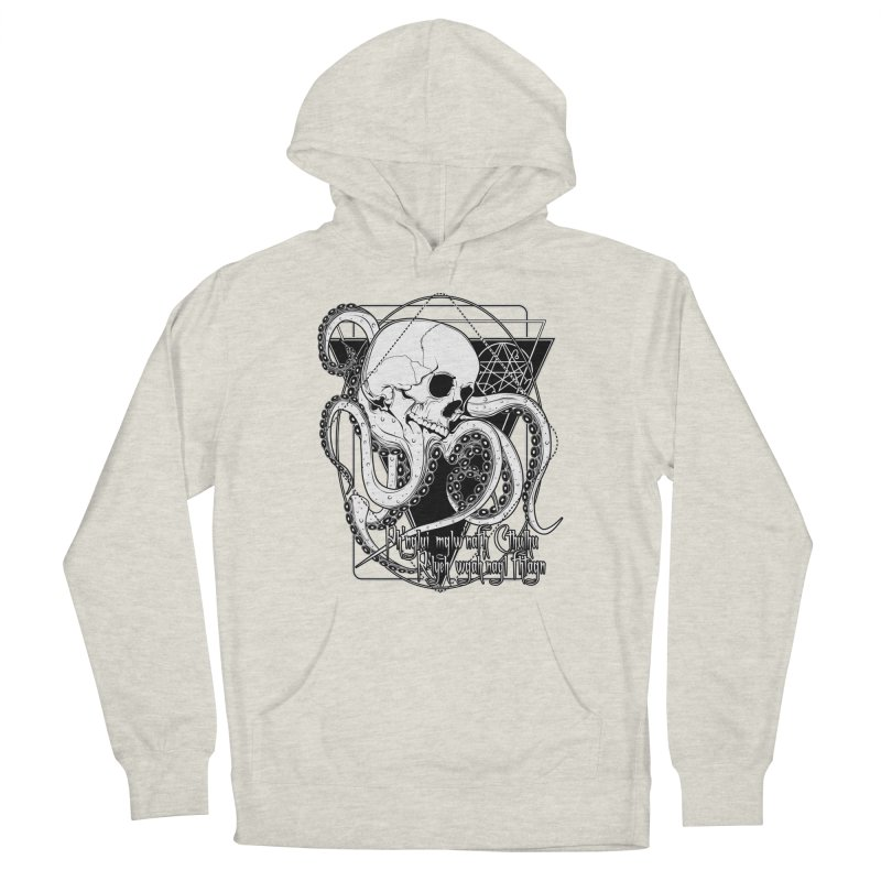 In his house at R'lyeh dead Cthulhu waits dreaming Men's French Terry Pullover Hoody by von Kowen's Shop