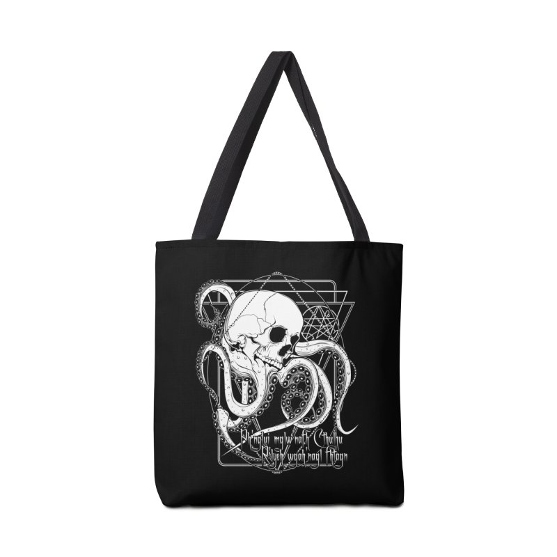 In his house at R'lyeh dead Cthulhu waits dreaming Accessories Tote Bag Bag by von Kowen's Shop