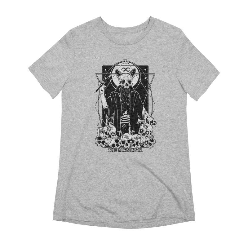 The Magician tarot card Women's Extra Soft T-Shirt by von Kowen's Shop