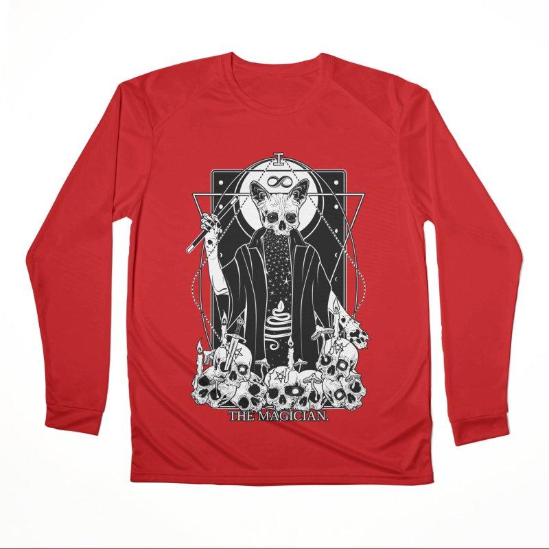 The Magician tarot card Women's Performance Unisex Longsleeve T-Shirt by von Kowen's Shop