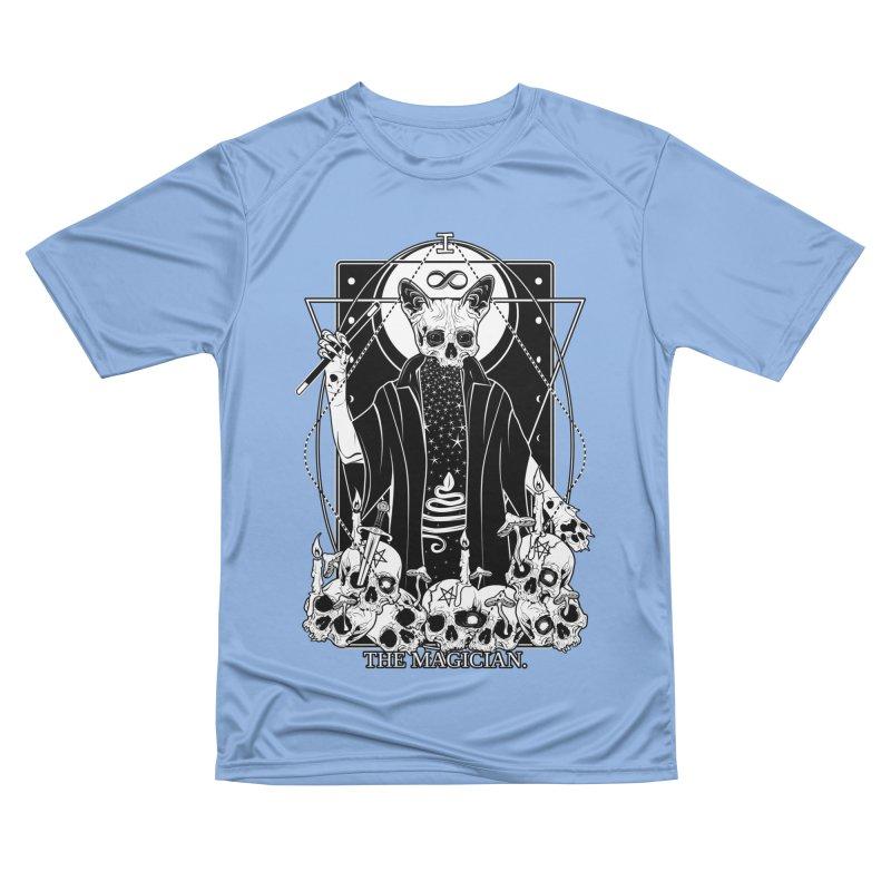 The Magician tarot card Men's Performance T-Shirt by von Kowen's Shop