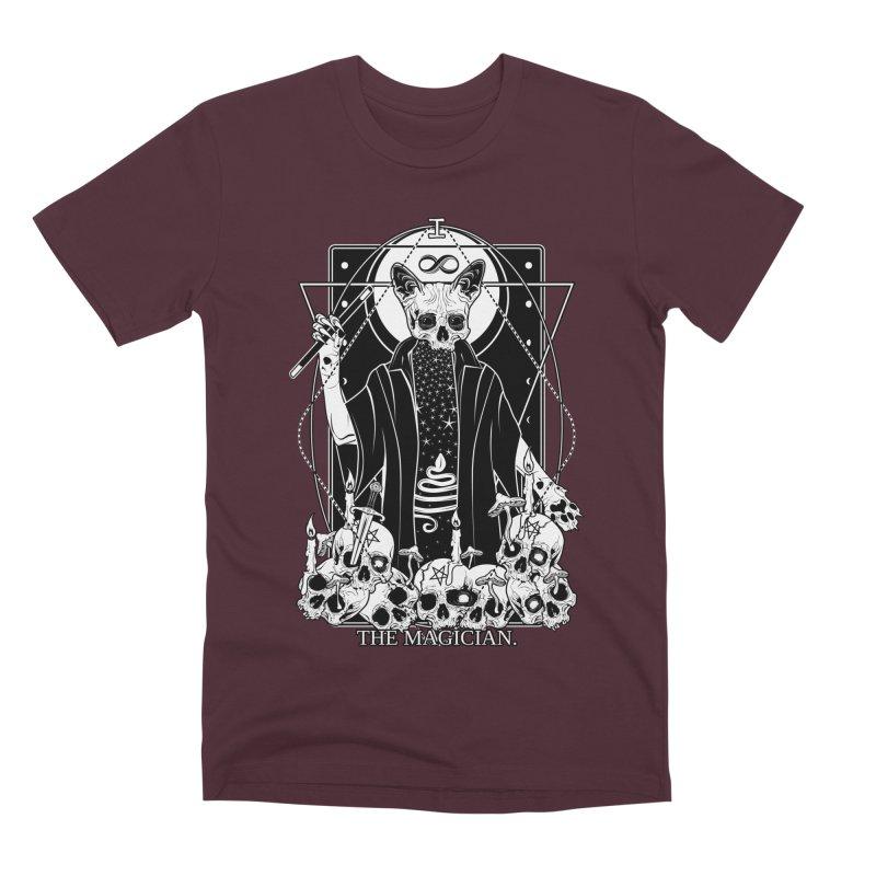 The Magician tarot card Men's Premium T-Shirt by von Kowen's Shop