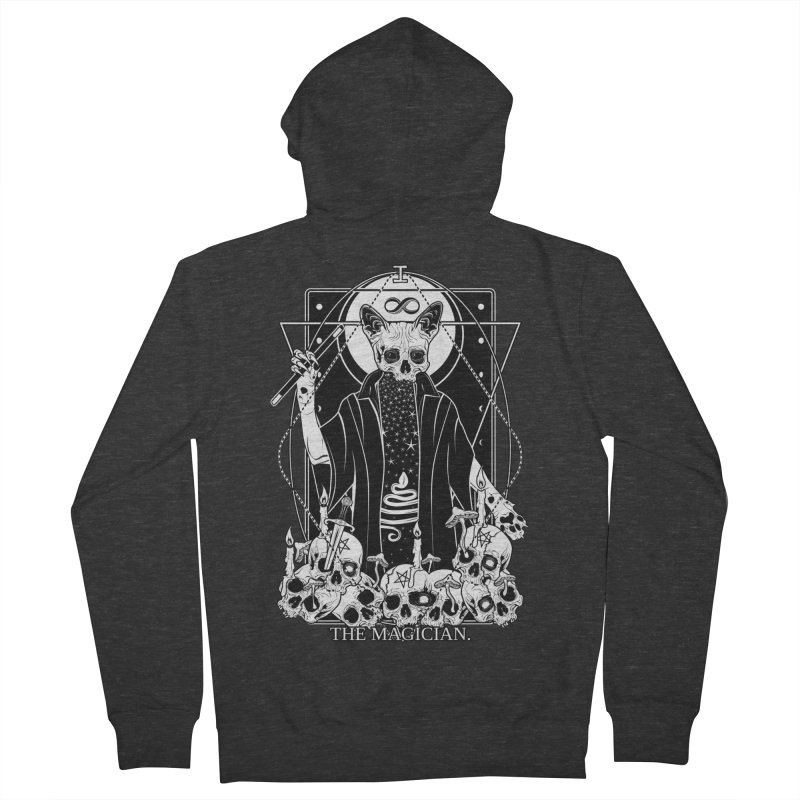 The Magician tarot card Women's French Terry Zip-Up Hoody by von Kowen's Shop