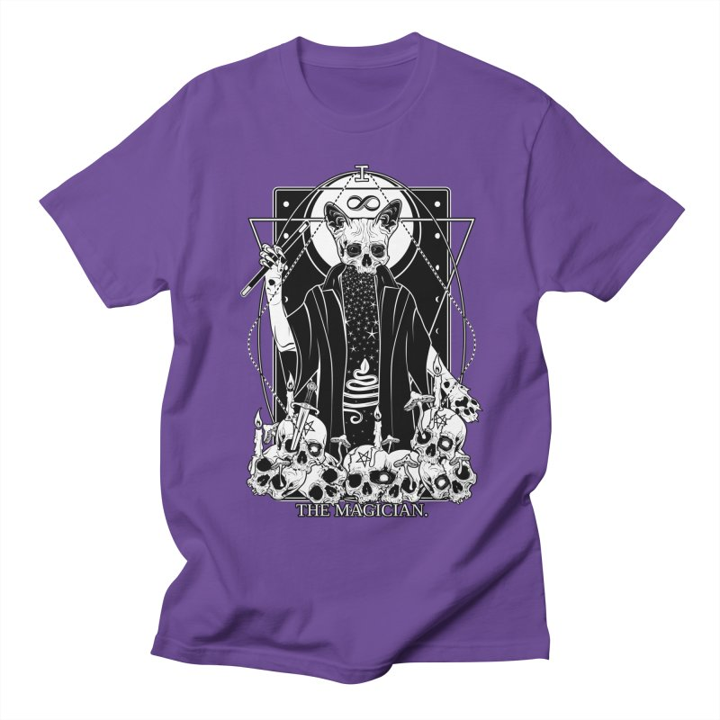 The Magician tarot card Men's Regular T-Shirt by von Kowen's Shop