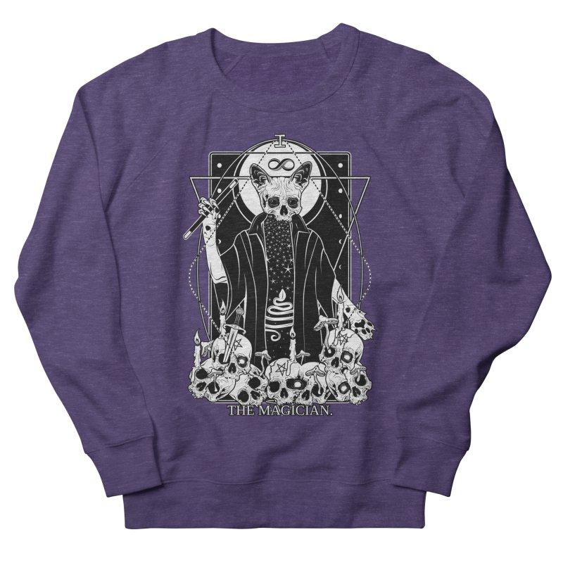 The Magician tarot card Men's French Terry Sweatshirt by von Kowen's Shop