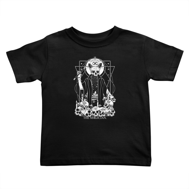 The Magician tarot card Kids Toddler T-Shirt by von Kowen's Shop