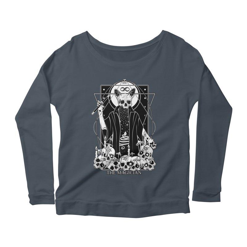 The Magician tarot card Women's Scoop Neck Longsleeve T-Shirt by von Kowen's Shop