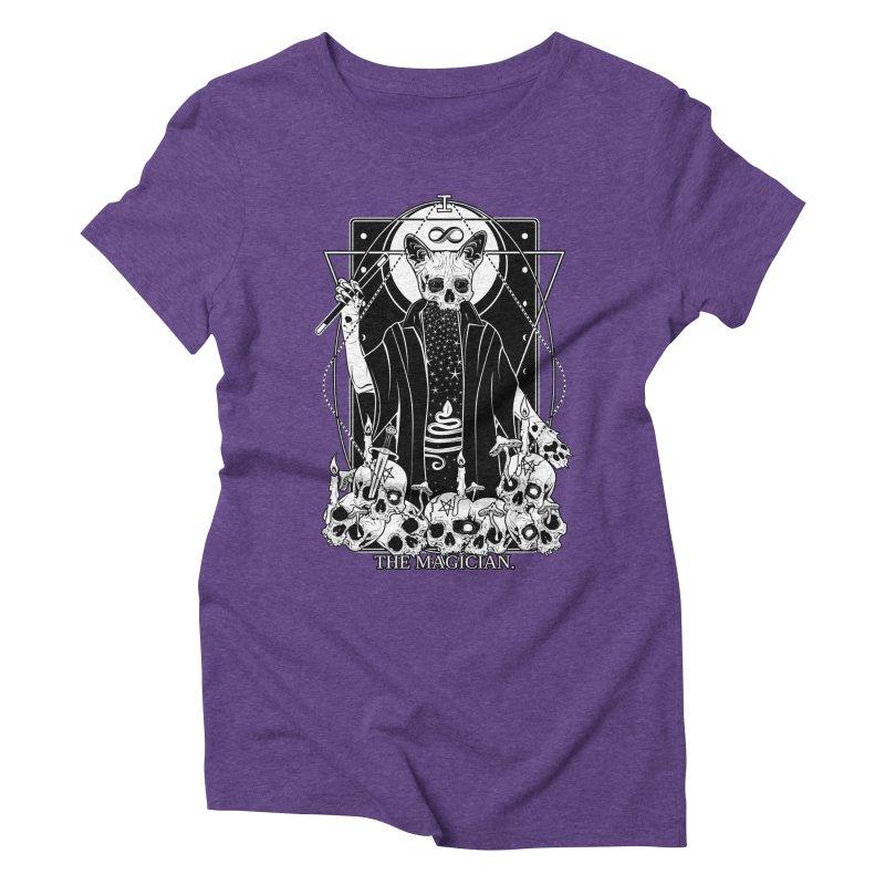 The Magician tarot card Women's Triblend T-Shirt by von Kowen's Shop