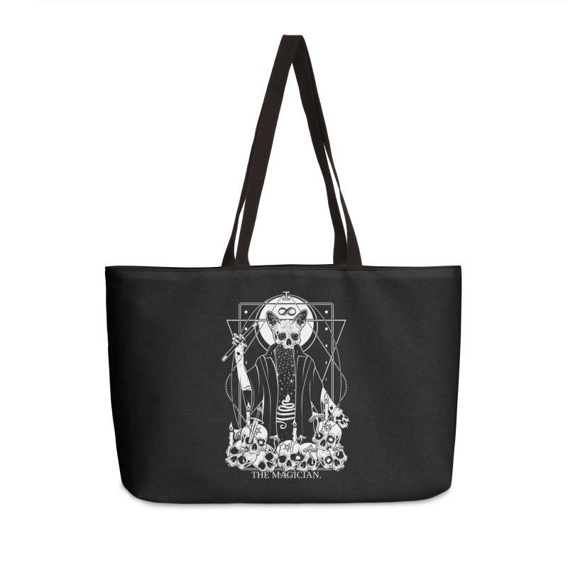 The Magician tarot card Accessories Weekender Bag Bag by von Kowen's Shop