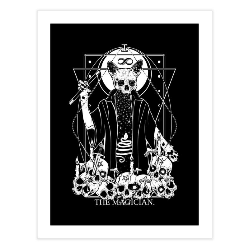 The Magician tarot card Home Fine Art Print by von Kowen's Shop