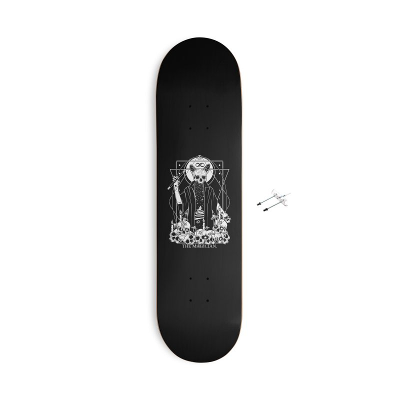 The Magician tarot card Accessories With Hanging Hardware Skateboard by von Kowen's Shop