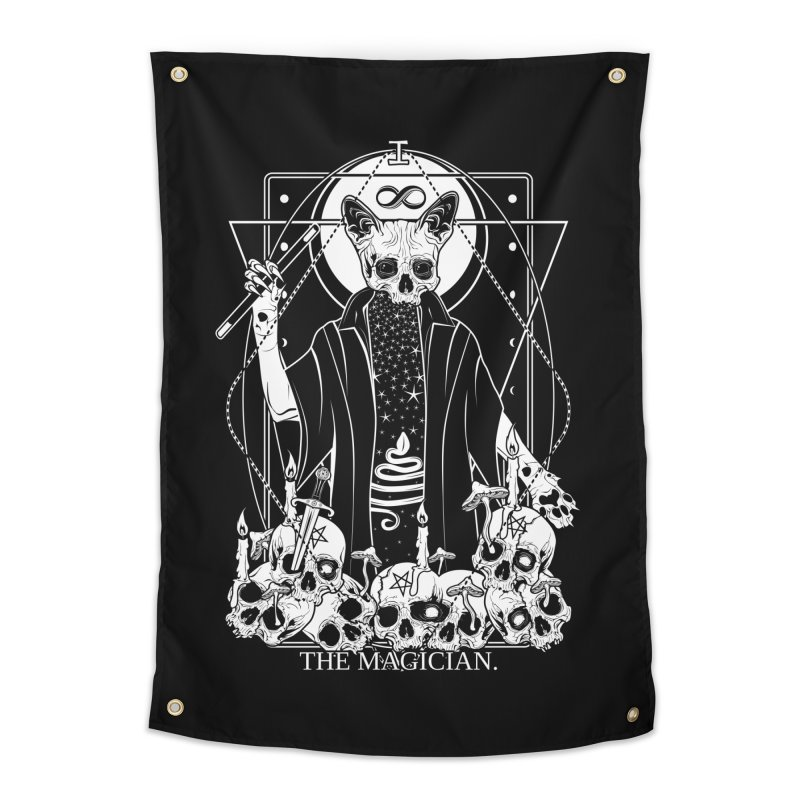 The Magician tarot card Home Tapestry by von Kowen's Shop