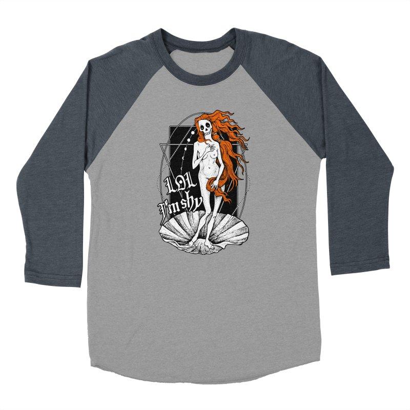 The Birth of Venus / LOL I'm Shy Men's Baseball Triblend Longsleeve T-Shirt by von Kowen's Shop