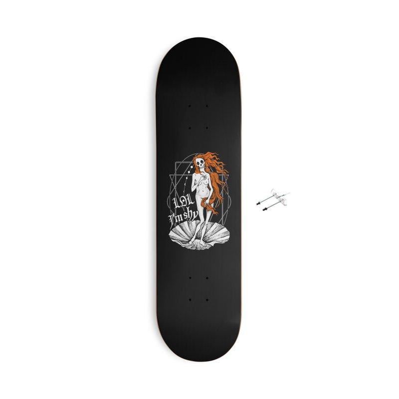 The Birth of Venus / LOL I'm Shy Accessories With Hanging Hardware Skateboard by von Kowen's Shop