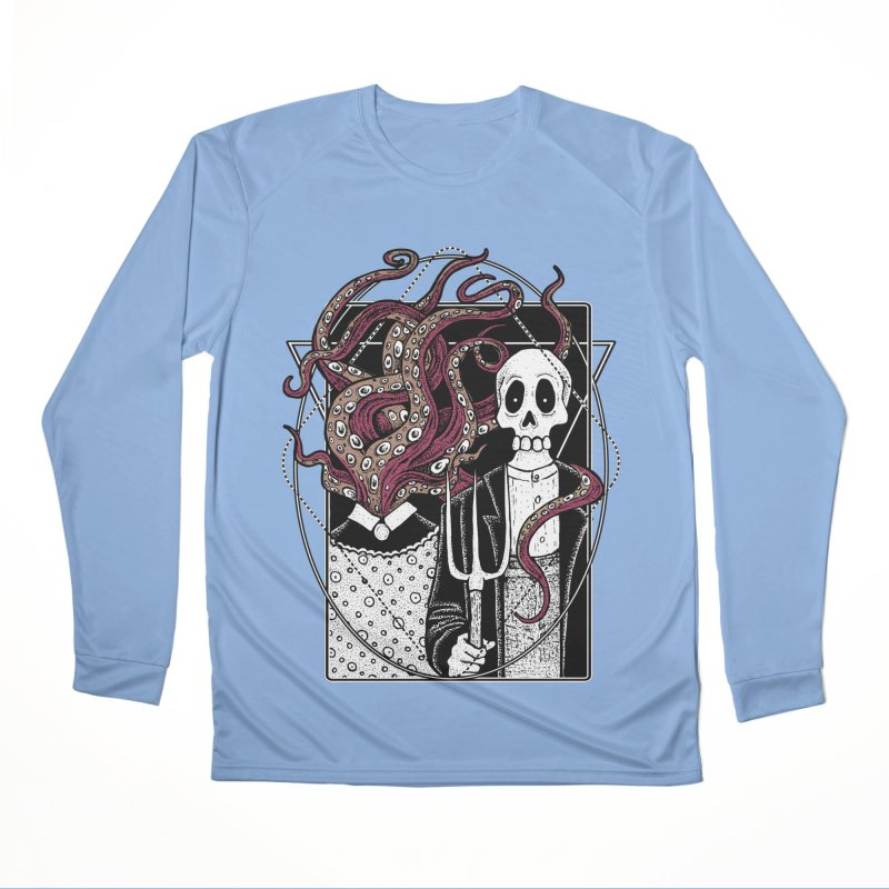 R'yleh Gothic - a tribute to Ameriacan Gothic Men's Longsleeve T-Shirt by von Kowen's Shop