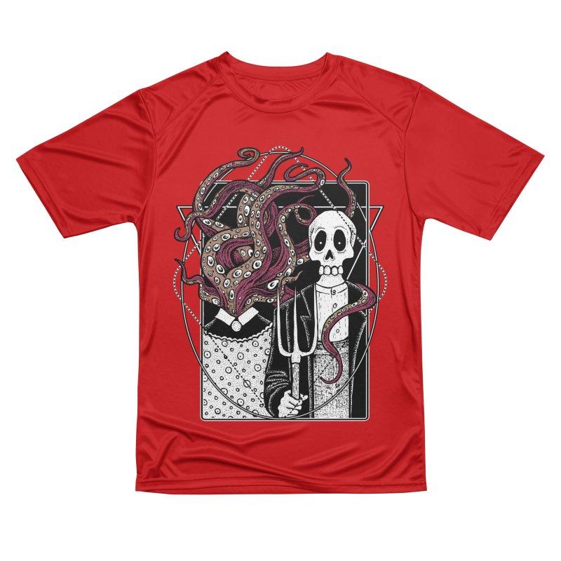R'yleh Gothic - a tribute to Ameriacan Gothic Men's Performance T-Shirt by von Kowen's Shop