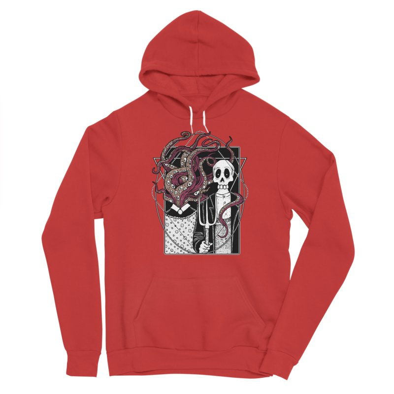 R'yleh Gothic - a tribute to Ameriacan Gothic Men's Sponge Fleece Pullover Hoody by von Kowen's Shop