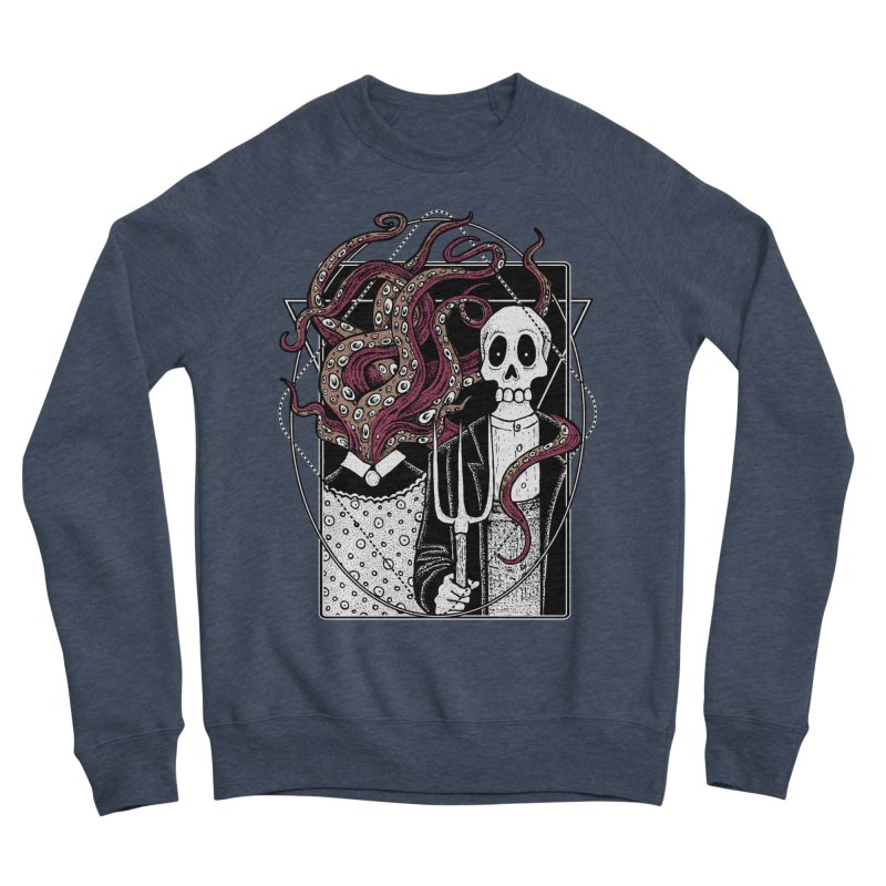 R'yleh Gothic - a tribute to Ameriacan Gothic Women's Sponge Fleece Sweatshirt by von Kowen's Shop