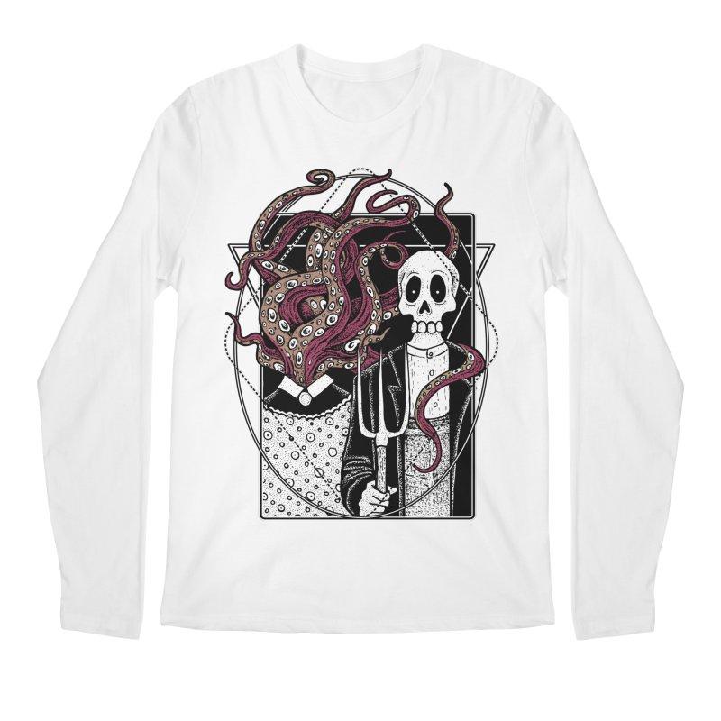 R'yleh Gothic - a tribute to Ameriacan Gothic Men's Longsleeve T-Shirt by von Kowen's Shop