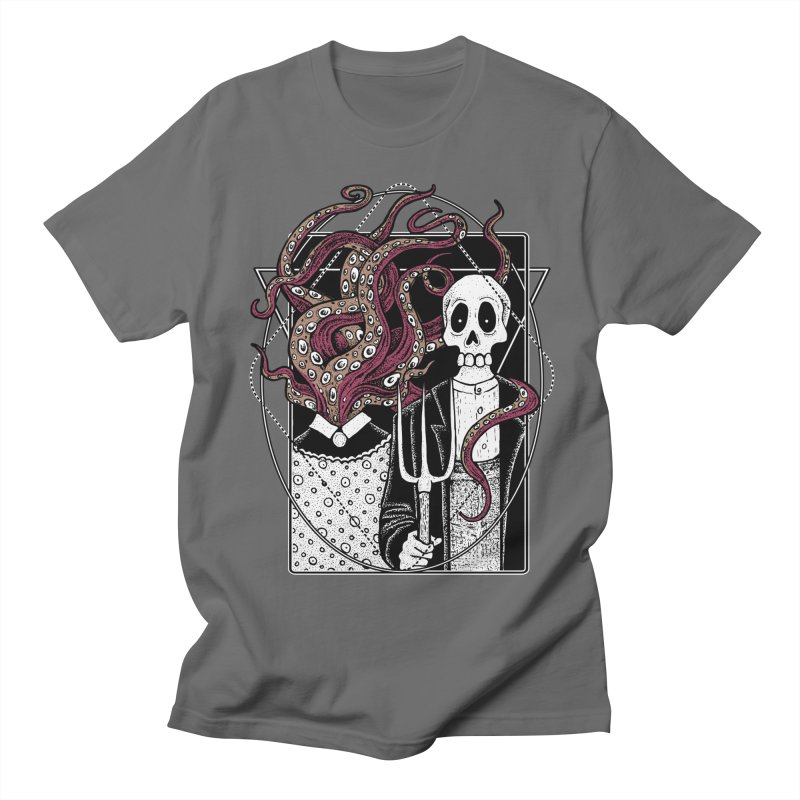 R'yleh Gothic - a tribute to Ameriacan Gothic Men's T-Shirt by von Kowen's Shop