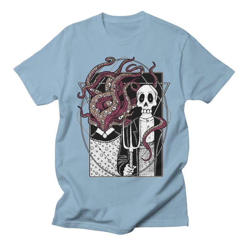 R'yleh Gothic - a tribute to Ameriacan Gothic Women's Regular Unisex T-Shirt by von Kowen's Shop