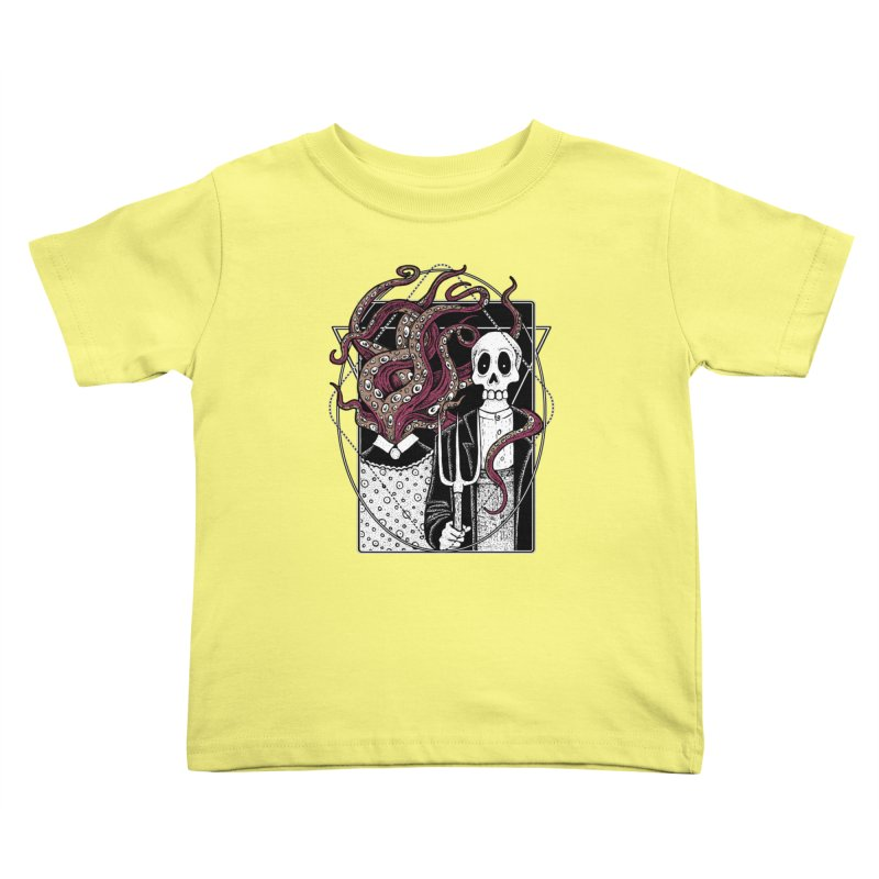R'yleh Gothic - a tribute to Ameriacan Gothic Kids Toddler T-Shirt by von Kowen's Shop