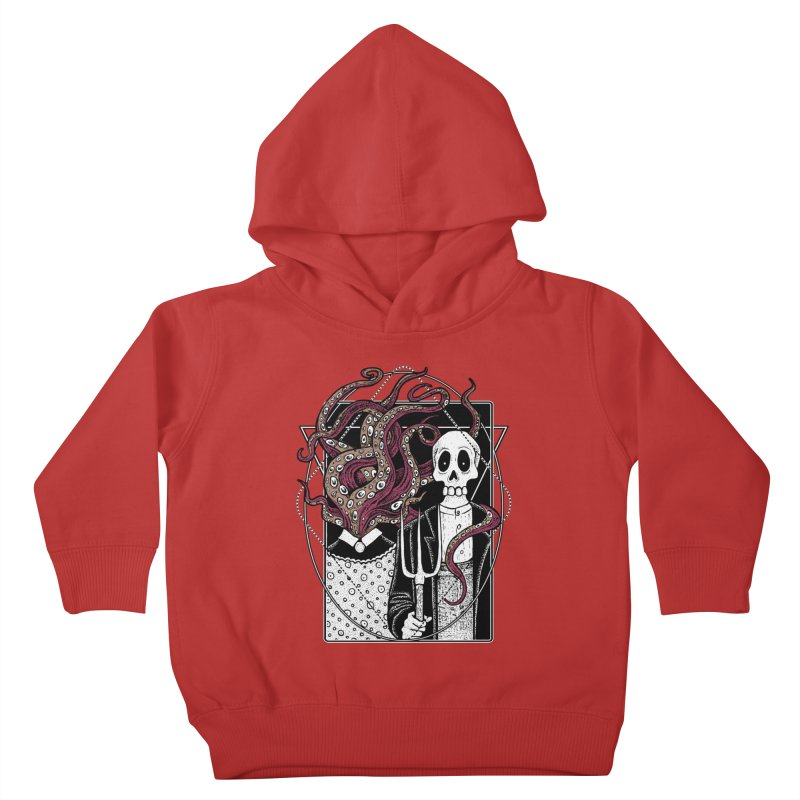 R'yleh Gothic - a tribute to Ameriacan Gothic Kids Toddler Pullover Hoody by von Kowen's Shop