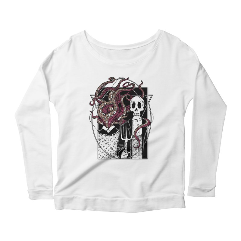 R'yleh Gothic - a tribute to Ameriacan Gothic Women's Scoop Neck Longsleeve T-Shirt by von Kowen's Shop