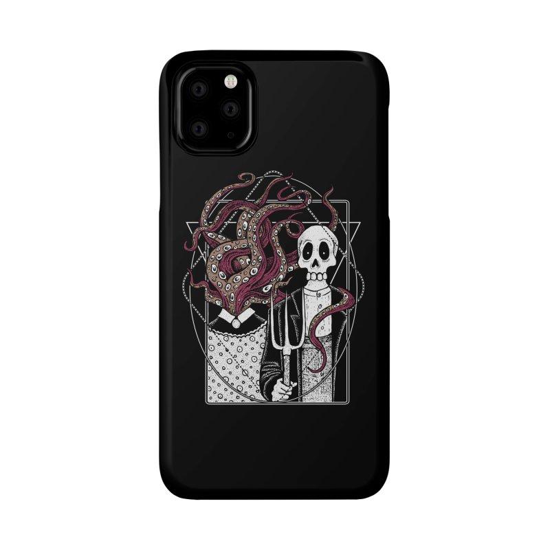 R'yleh Gothic - a tribute to Ameriacan Gothic Accessories Phone Case by von Kowen's Shop