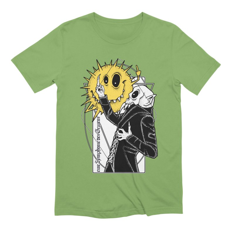 The Vampire and the Sun Men's Extra Soft T-Shirt by von Kowen's Shop