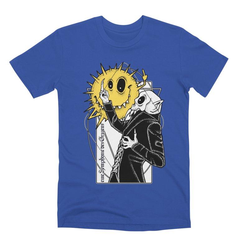 The Vampire and the Sun Men's Premium T-Shirt by von Kowen's Shop